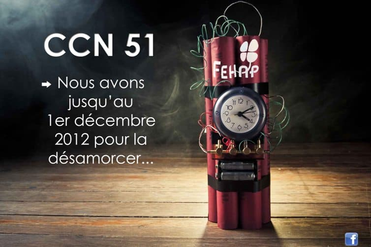 Fin de la convention CCN 51
