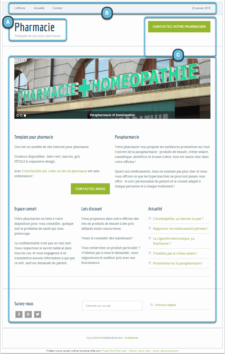 structure-accueil-template-pharmacie