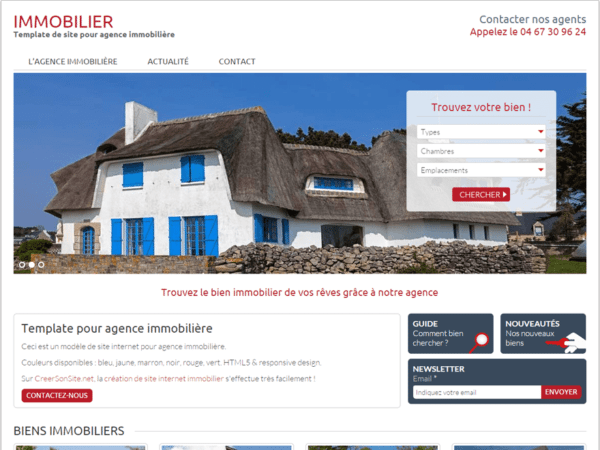 site immobilier